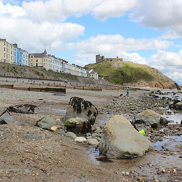Criccieth Castle by deathwaves