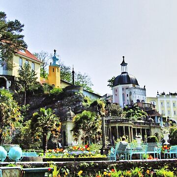 Portmeirion HDR by deathwaves