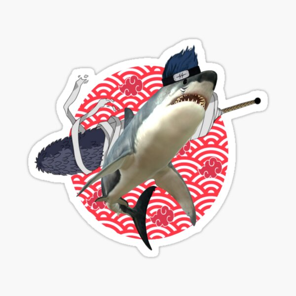 Kisame Shark Sticker