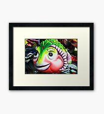 The carnival fish Framed Print