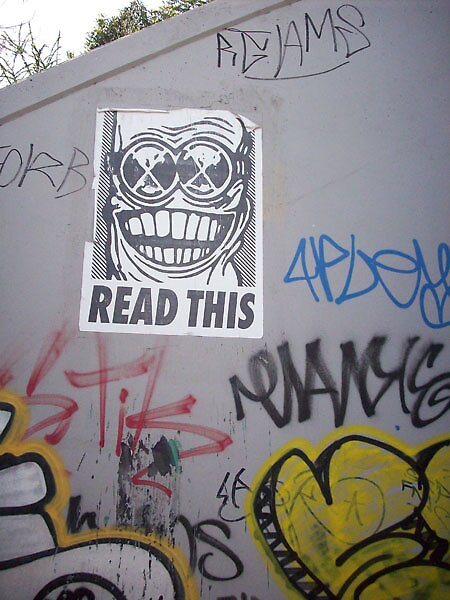 PasteUps - Clifton Hill 01 by ReadThis