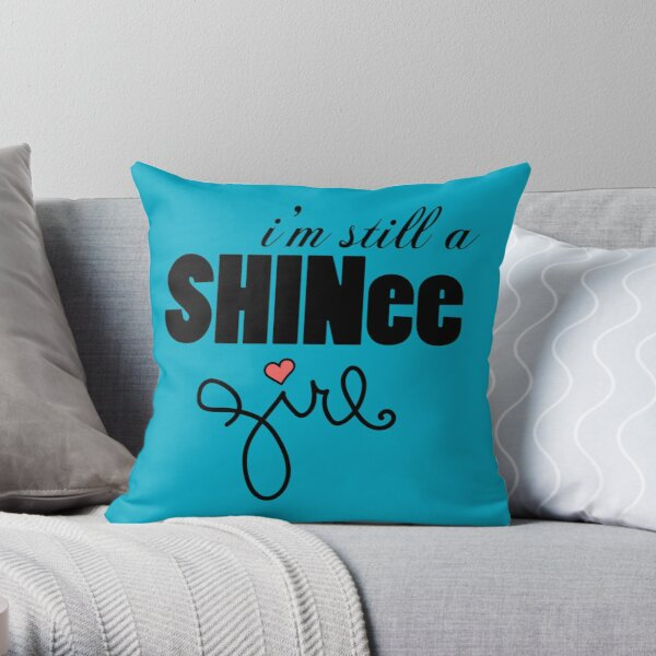 SHINee Girl v.2 Throw Pillow
