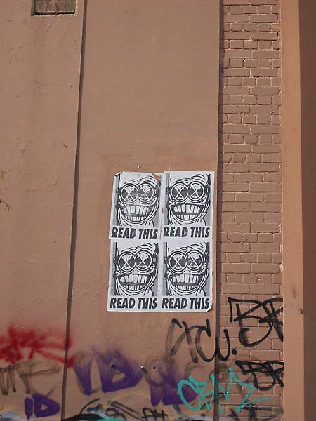 PasteUps - Fitzroy North 01 by ReadThis