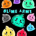 SLIME ARMY!!!! by dragongirl222