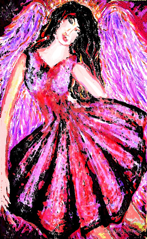 Red Angel 2 by Cheryle  Bannon