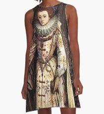 Elizabeth I Fan Portrait A-Line Dress