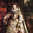 Elizabeth I Fan Portrait by Incognita Enterprises