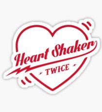 TWICE Heart Shaker Logo Sticker