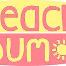 Beach Bum (rosa / gelb) von its-anna
