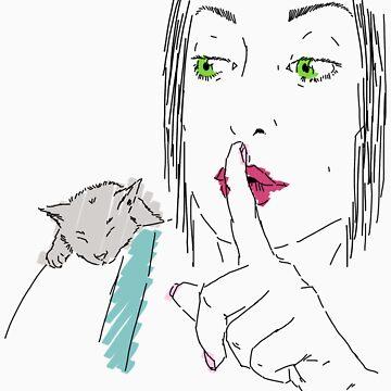 Shh by jussta