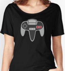 HYBRID CONTROLLER by retro metro Women's Relaxed Fit T-Shirt
