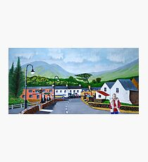 Simon in the township of Listowel, County Kerry, Irish Republic  Photographic Print