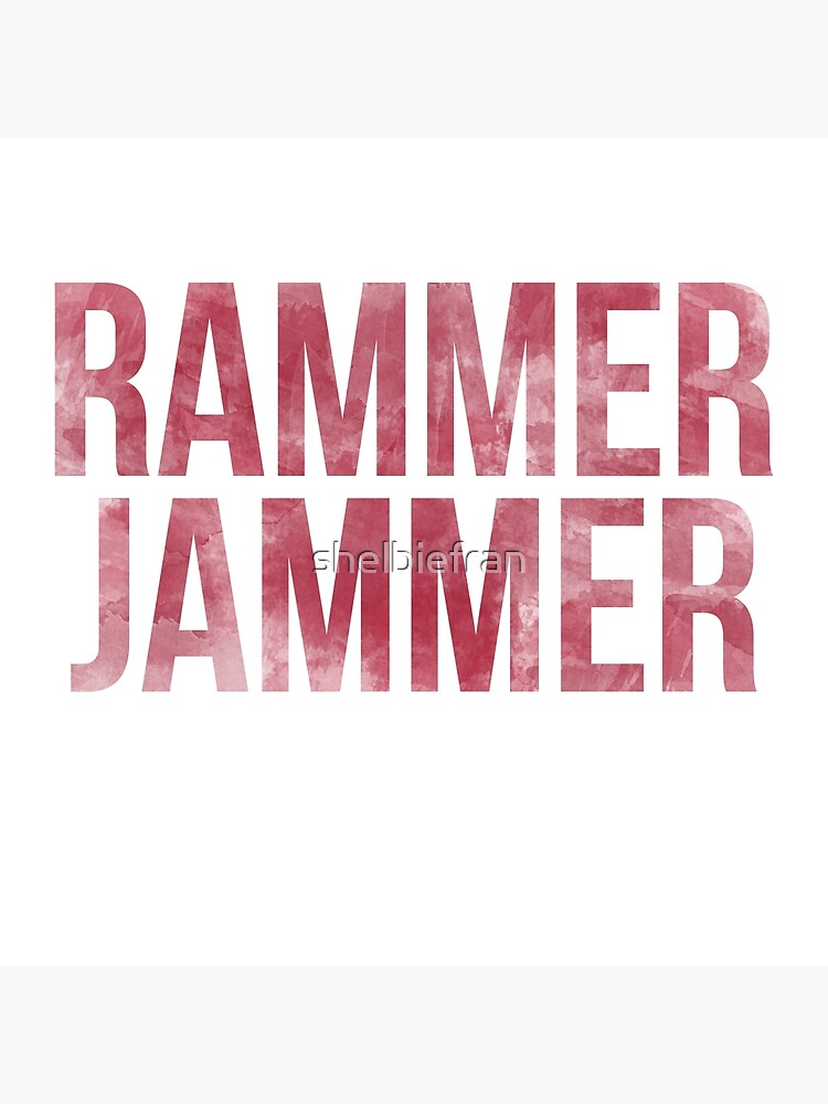 Rammer Jammer Tie Dye by shelbiefran