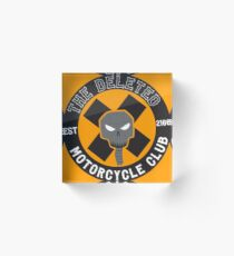 Angrybot: The Deleted Motorcycle Club Acrylic Block