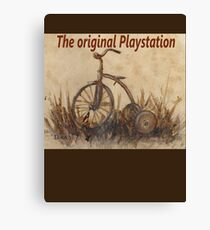 The Original Playstation  Canvas Print