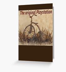 The Original Playstation  Greeting Card