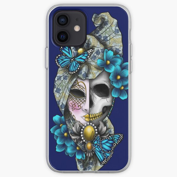 Butterfly Mask iPhone Soft Case