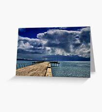 """Rainstorm Over Louititt Bay"" Greeting Card"