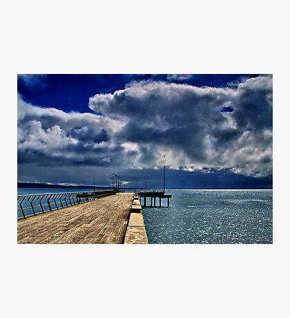 """Rainstorm Over Louititt Bay"" Photographic Print"