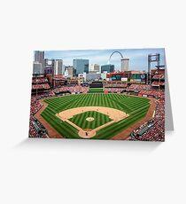 Cardinals Baseball Greeting Card