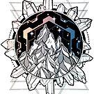 Crystal Formation by Humberto Braga