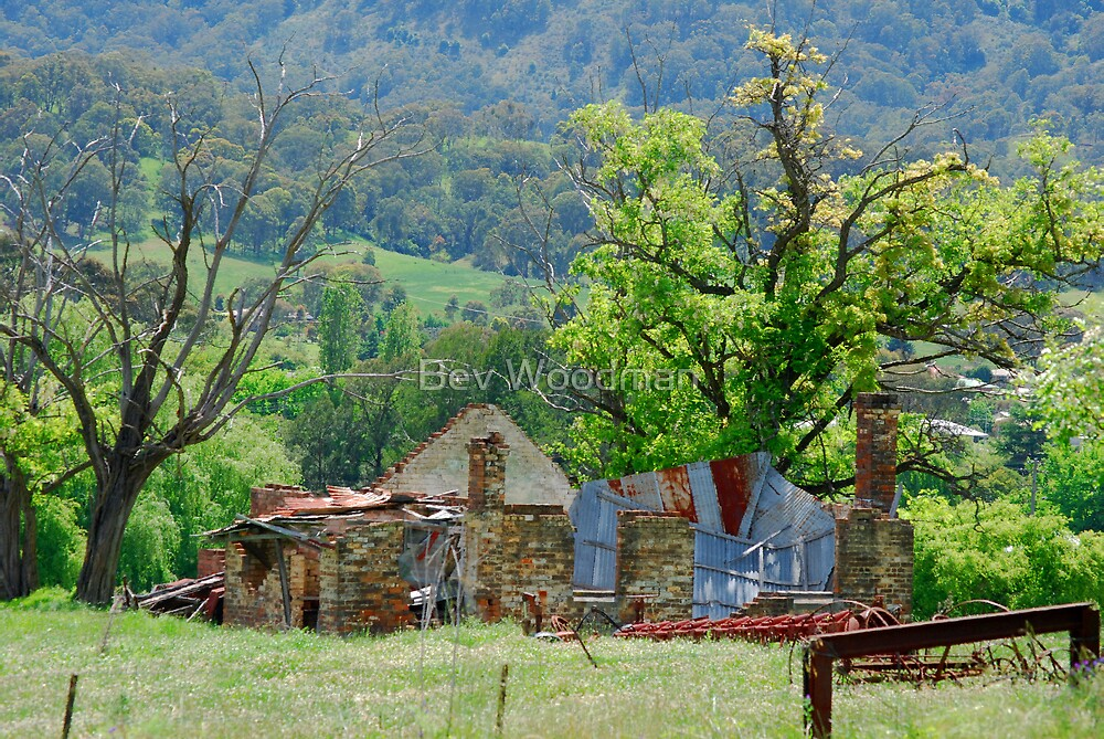 Once Was Grand - Murrurundi NSW by Bev Woodman