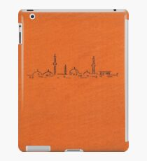 Vintage book cover with illustration of a mosque iPad Case/Skin