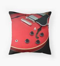Gibson ES-335 Electric Guitar  Throw Pillow