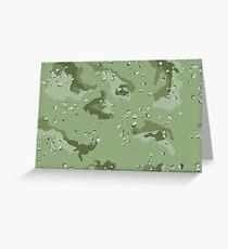 Military Greeting Card