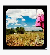 Urban Greets Rural Photographic Print