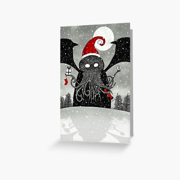 A Cthulhu Christmas Greeting Card