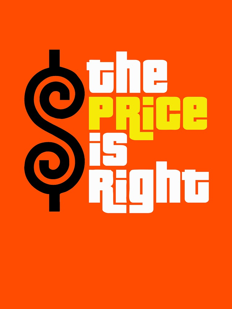 The Price Is Right Merchandise Classic T Shirt By Elainedavidson
