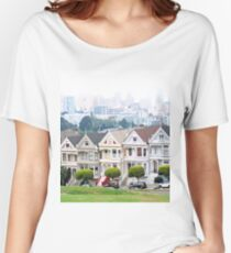 Painted Ladies  Women's Relaxed Fit T-Shirt