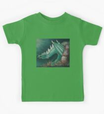 Forest Dragon T-shirt Kids Clothes