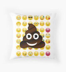 Emoji shit Pile of Poo Poop Emoji Secret Santa' por 'Kris Kringle Floor Pillow