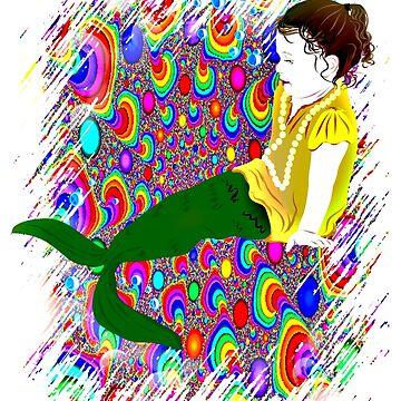 Mermaid bubbles by kathmartin