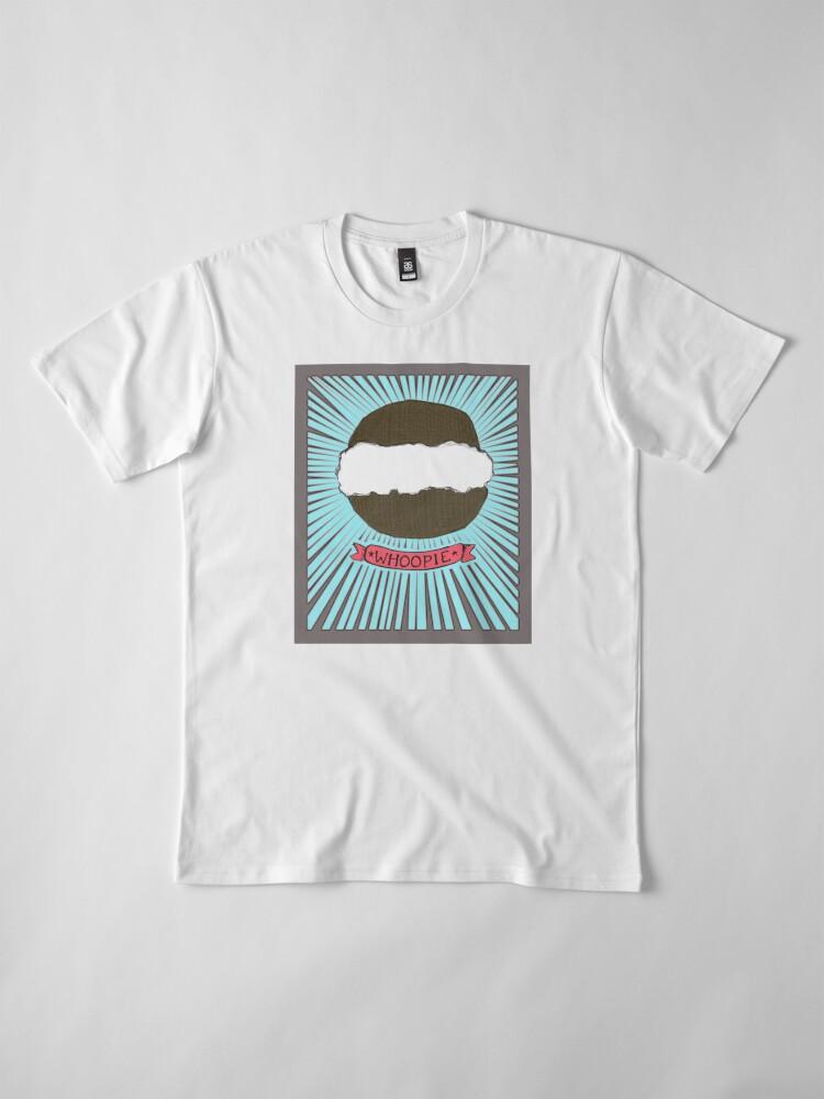 Alternate view of Whoopie!  Whoopie Pies on Aqua Premium T-Shirt