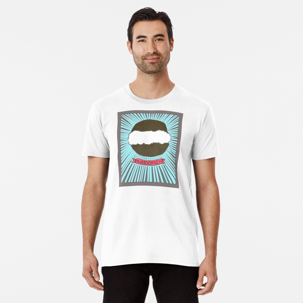 Whoopie!  Whoopie Pies on Aqua Premium T-Shirt