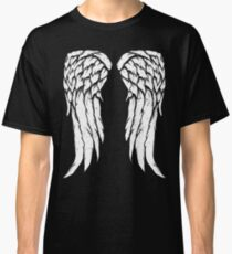 Daryl Dixon Wings - Zombie Classic T-Shirt