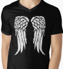 Daryl Dixon Wings - Zombie Men's V-Neck T-Shirt