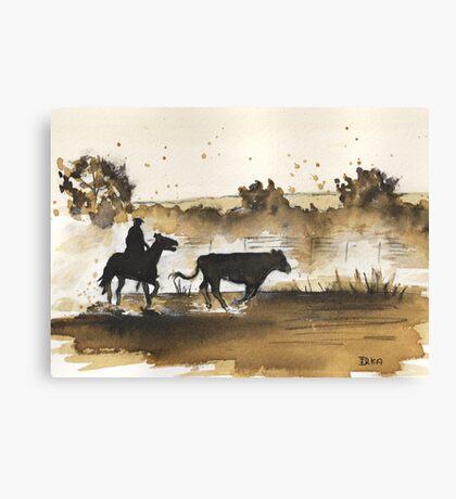 The Straggler Canvas Print