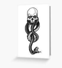 The Dark-Mark Greeting Card