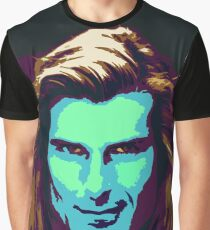 Fabio Psychedelic Graphic T-Shirt