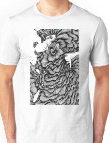 Black swirl art Vector Image Unisex T-Shirt
