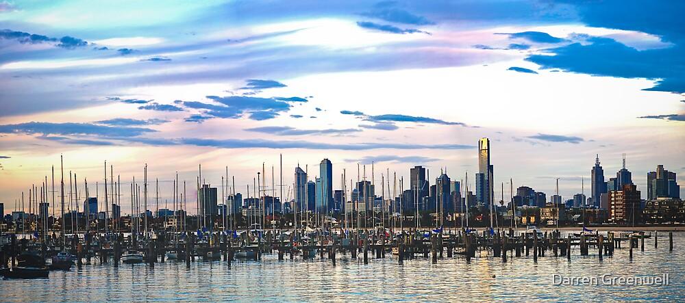 Melbourne Skyline by Darren Greenwell