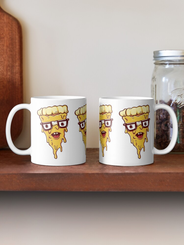 Alternate view of Pizza Face Mug