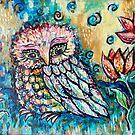 In the Garden by Cheryle  Bannon