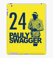 Pauly Swagger iPad Case/Skin