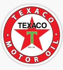 Vintage Motor Oil Sticker