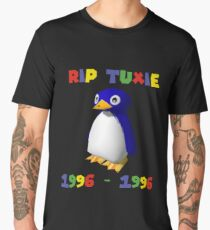 Mario 64 - Tuxie the penguin Men's Premium T-Shirt